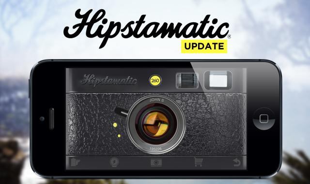 New Hipstamatic update!