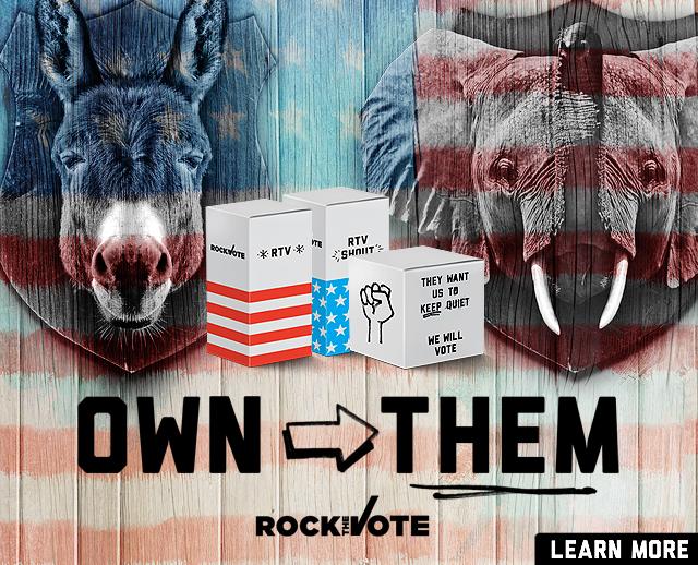 Rock the Vote Freepak!